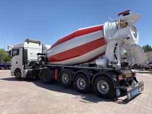 ny ALIM mixer semi trailer concrete mixer semi-trailer betonblander