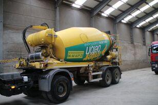 LIEBHERR BETON MIXER HTM 1004 ZA - 10 M³ betonblander