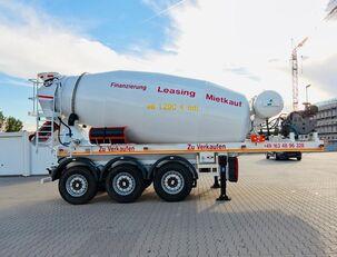 SCHWARZMÜLLER TTC-Fulda Betonmischer Auflieger mit Motor  NEU betonblander