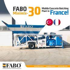 ny FABO MINIMIX-30M3/H MINI CENTRALE A BETON MOBILE betonfabrik
