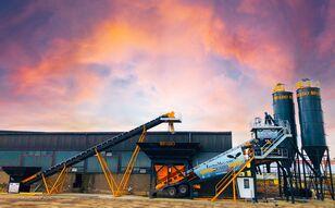 ny FABO TURBOMIX-100 Cерия Mобильных бетонных установок betonfabrik
