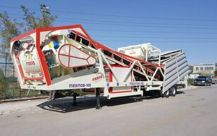 ny MESAS 100 m3/h MOBILE Concrete Batchıng Plant betonfabrik