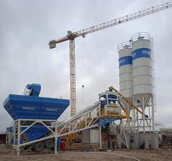 ny PROMAX Mobile Concrete Batching Plant M120-TWN (120m3/h) betonfabrik