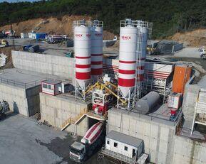 ny SEMIX LES CENTRALES À BÉTON FIXES Stationnaire 200 betonfabrik