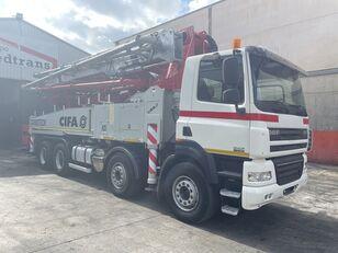 Cifa K  45-5 på chassis DAF CF85.410 CIFA K 45 CARBOTECH betonpumpe