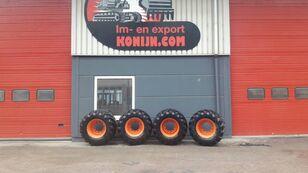 Tianli single tires 600/50x22.5 gravemaskine på hjul