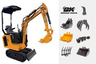 ny BERGER KRAUS Mini Excavator BK800BS torsion arm with FULL equipment minigraver