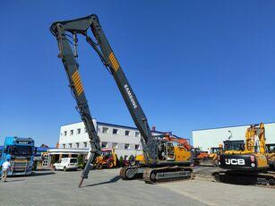 SAMSUNG-VOLVO SE 450 LC3 / DEMOLITION HAMMER3 GRIPPERS / 1 NEW / LOW HOURS / V nedrivnings gravemaskine