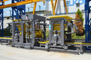 ny ELKON ELKOBLOCK-36S FULLY AUTOMATIC SINGLE LAYER Concrete Block Machin udstyr til fremstilling af betonblokke