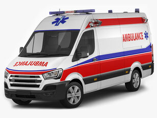 ny HYUNDAI H 350 ambulance