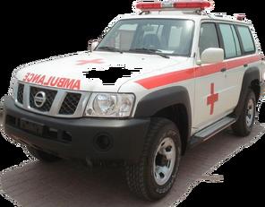 ny NISSAN Patrol 4.0 XE AT ambulance